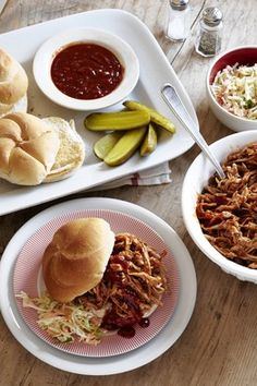 Mom-and-Pop Pulled Pork. An oven-baked version of the smoky-sweet perennial barbecue favorite