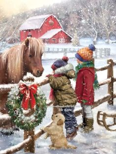 Diamond Painting Christmas Wreaths for Children and Horses Paint with Diamonds Art Crystal Craft Decor