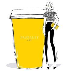 Imagine if the world's most beautiful pearls @paspaleypearls made coffee..... It would be spectacular! But why stop there, I'm also imagining a cropped jacked made completely of Paspaley Pearls...... A girl can dream.