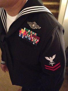 Navy corpsman dress blues