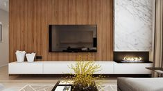 Living Room With Fireplace, New Living Room, Living Room Decor, Living Area, Fireplace Tv Wall, Fireplace Design, Fireplace Ideas, Mantel Ideas, Tv Wall Design