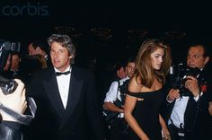Richard Gere and Cindy Crawford 1991 Moving Picture Ball honoring Scorsese