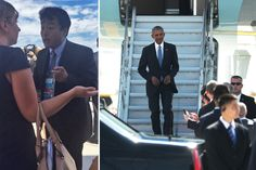 'This is our country!': Tempers flare as Obama arrives in China | New York Post
