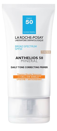 We don't believe in resolutions, but you should be wearing sunscreen daily. Yes, really. Luckily this primer protects against sun damage while working to correct uneven skin tone and redness, so it won't be an issue. Right? Right!
