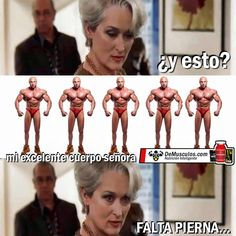 La señora - Falta pierna www.demusculos.com