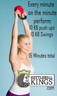 kettlebell workout, kettlebell circuit, kettlebell exercise