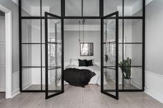 Klein maar fijn appartement | Stek Magazine | Scandinavian Homes | Appartment | Small living space | Bedroom