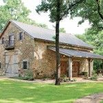 Vintage stone Dutch barn turned into a home.