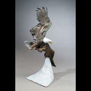 Eagles - Eagles - Defending Liberty King Cobra Snake, Eagles, Bald Eagle, Liberty, Sculptures, Political Freedom, Eagle, Freedom, Sculpture