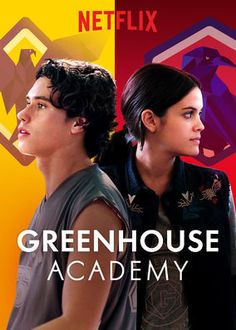 Greenhouse Academy (2017) - When teen siblings Hayley and Alex enter an elite boarding school, they find rivalry, romance and a mystery related to the recent loss of their mom.