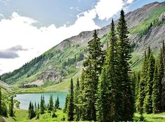 Emerald Lake north of Crested Butte