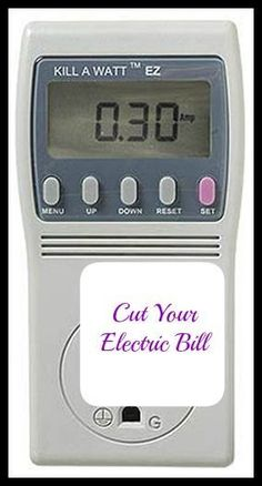 Save Hundreds on Your Power Bill. By using this simple $20 gadget and making a few easy changes you could save a lot of money on your monthly power bill.