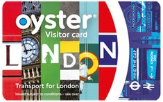 Oyster cards and travelcards in London