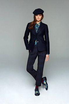 Very classic cut with modern chic pair with Matching Brogues