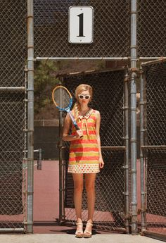 i want to play tennis.❁∙❁. dear creatures spring 2014