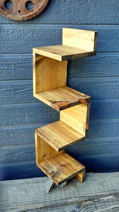 This corner unit is made of HT pallet wood. Each piece measures Total length is Width is about It is all natural pallet wood. It can be stained or painted. We use MInwax wood finishes.Please consult the color chart on us know your choice with your