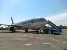 Qatar Cargo Airbus A330 in Budapest