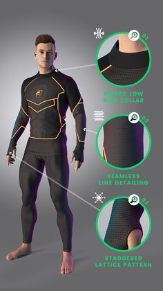 Alphalete Zenith Concept by FittDesign Showcase- Pt 1 Superhero Art Projects, Superhero Design, Super Hero Outfits, Super Hero Costumes, Suit Of Armor, Body Armor, Fantasy Character, Character Concept, Modern Suits