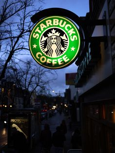 Starbucks Coffee #Starbucks, #coffee, #neon, https://facebook.com/apps/application.php?id=106186096099420