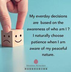 Bk Shivani Quotes, Brahma Kumaris, Motivate Yourself, Patience, Usb Flash Drive, Peace, Messages, Motivation