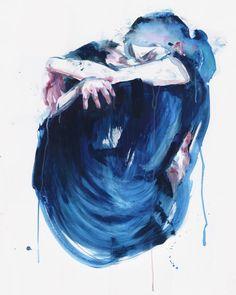 by Agnes Cecile   @agnes_cecile #agnescecile #art #illustration #watercolor #hallucination #hallucinationpage
