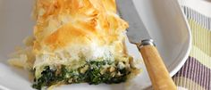 Blue Cheese and Spinach Roll recipe from Food in a Minute