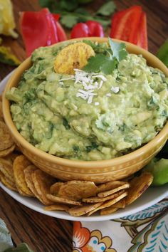 Game Day Tomatillo Coconut Guacamole   Adjust to Life Chiropractic #simpsonvillesc www.adjust2life.com