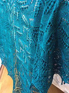Ravelry: Forest Laughters Shawl by Athanasia Andritsou