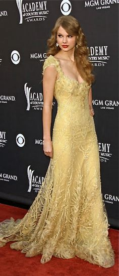 Elie Saab-Why do I get the feeling that Elie Saab is one of Taylor's favorite designers? :)