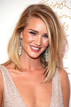 Rosie Huntington-Whiteley hairstyles