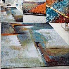 This modern carpet not only dazzles with its brilliant appearance but also with its unbelievable value for money! This hard-wearing and multi-use carpet is also very easy to maintain. Available in a variety of different sizes, these modern carpets are perfectly suitable for any area of the home. | eBay!