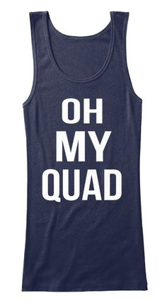 Oh My Quad Tank Top for Women - Oh My Quad Becky - Workout Tank Tops - Gym Tank Tops - Fitness Tank Tops - Funny Tanks for Women
