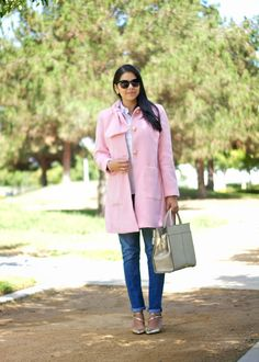 Nice - My pink coat