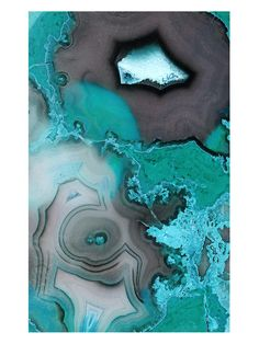 Turquoise Agate (Canvas) by Grand Image at Gilt