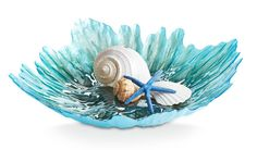 Nature inspired every facet of our Turquoise Plateau Bowl