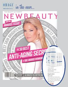 New Beauty names its 100 best products of the year. Obagi makes the list as the best anti-acne system sold at a doctor's office. http://www.obagi.com/sites/default/files/news/docs/new-beauty-dec-2012.pdf
