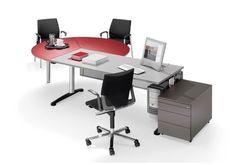 Arbeitsplatz WINEA COMPACT - WINI Büromöbel, Schreibtisch planen