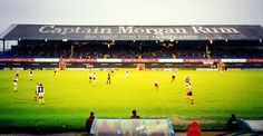 """Once the longest-serving advert in any British football ground, the painted words of """"Captain Morgan Rum – The Right Rum For Today's Taste"""" adorned the roof of Cardiff City's Ninian Park football ground for more than 40 years."""