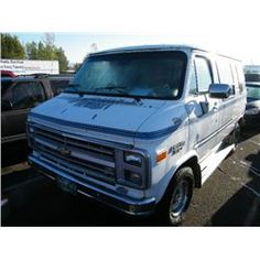 1991 Chevrolet SportvanCategory: Van Make: Chevrolet Model: Sportvan Color: Year: 1991 VIN#: 2GBEG25Z7M4126051 License Plate:  Title: Will Update Monday Night Mileage: 0 Condition: Runs and Drives