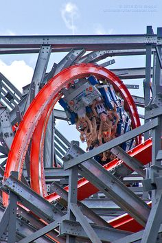 Wicked Cyclone Roller Coaster- Rocky Mountain Construction transformed the…