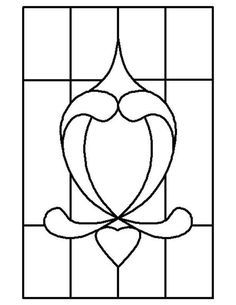 ★ Stained Glass Patterns for FREE ★ glass pattern 779 ★