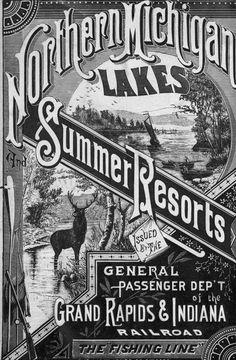 GR & I Railroad poster