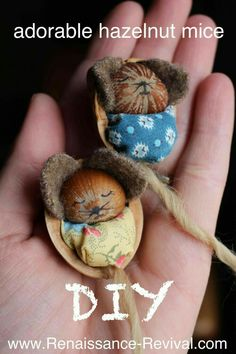Hazelnut mice