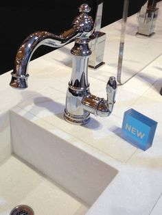 The All New Weymouth Kitchen Single Handle Faucet In Chrome Finish At  #KBIS2013 #