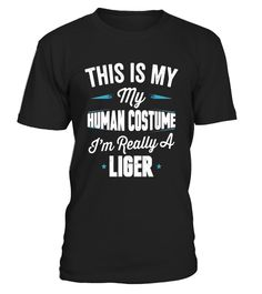 """# This Is My Human Costume I'm Really A Liger T Shirt .  Special Offer, not available in shops      Comes in a variety of styles and colours      Buy yours now before it is too late!      Secured payment via Visa / Mastercard / Amex / PayPal      How to place an order            Choose the model from the drop-down menu      Click on """"Buy it now""""      Choose the size and the quantity      Add your delivery address and bank details      And that's it!      Tags: Trick or treat your way to lots…"""