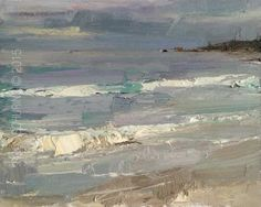 Seascape Morning View 9.6 x 12 Roos Schuring