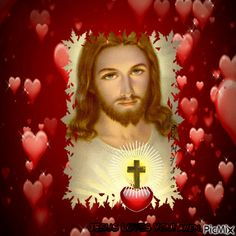 See the PicMix JESUS belonging to giurgead on PicMix. Good Morning Kiss Images, Good Morning Kisses, Jesus Is My Friend, Gifs, Vote Sticker, Holy Mary, Jesus Christ, Lord, Thankful