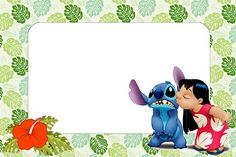 Lilo and Stitch: Free Printables and Images. | Oh My Fiesta! in ...
