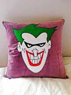 Velvet Joker Batman Pillows.