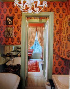 "Bathroom from ""The World of Muriel Brandolini: Interiors"""